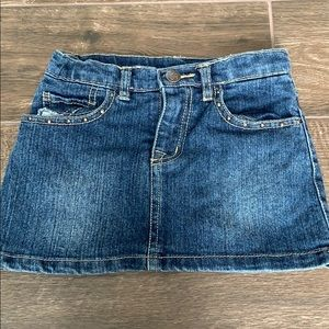 Girls 1989 Place 4T Jean skirt/skort.
